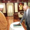 البشير يصدر قراراً جمهورياً بتعيين مولانا حيدر أحمد دفع الله رئيساً للقضاء